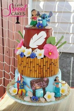 lelo and stitch cake – Yahoo Image Search Results - Stitching Lilo And Stitch Cake, Lelo And Stitch, Lilo Y Stitch, Crazy Cakes, Fancy Cakes, Cute Cakes, Sweet Cakes, Fondant Cupcakes, Cupcake Cakes