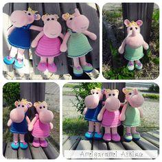 Amigurumi Amigurumi Knit Toys Hippo hippopotamus joke-my-Preparation DIY