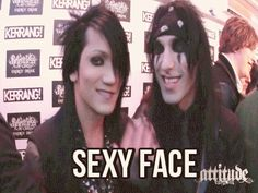 CC and Ashley Purdy<<< I find this hilariously adorable... CC's just like: SEXY FACE!