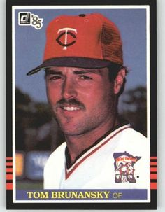 1985 Donruss #364 Tom Brunansky - Minnesota Twins (Baseball Cards) by Donruss. $0.88. 1985 Donruss #364 Tom Brunansky - Minnesota Twins (Baseball Cards)