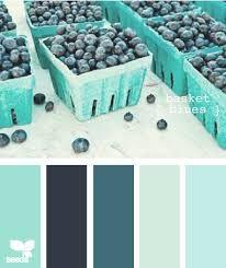Résultats de recherche d'images pour « deco bleu et vert »