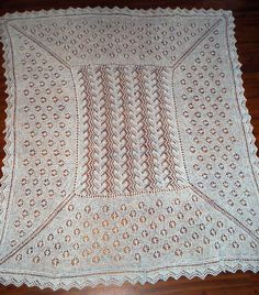 Ravelry: Shetland Shawl pattern by Flory Loughead-free        patter n