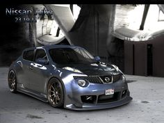 Nissan Juke...didn't know one could look like this..not bad.