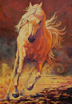 Mystique oil 36 x 24 Return of the Wild Horses  Gold Light Gallery, New Hope, PA Friday, Saturday, Sunday through June  Opening Reception Saturday June 7 5-8 ALL INVITED. www.Gaiti.com Ritch Gaiti - Art of the Horse