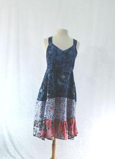 Upcycled Clothing / Romantic Tunic Dress / by CuriousOrangeCat, $89.00