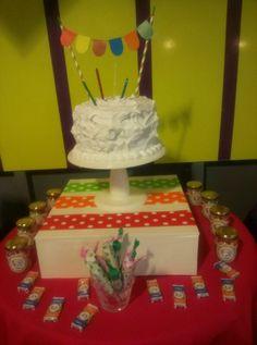 La torta.