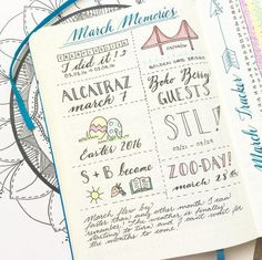 Whoa. | 25 Satisfying Bullet Journal Layouts That'll Soothe Your Soul