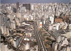 A part of Sao Paulo, Brazil. GO THERE!