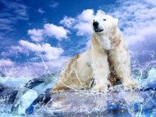 """Алмазная мозаика """"Хозяин Арктики"""""""