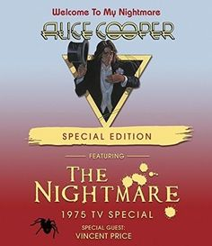 Alice Cooper Welcome to My Nightmare (Special Edition) DVD 2017  #852Entertainment #OneAsiaAllEntertainment
