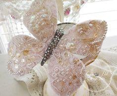 Shabby Chic Butterfly Tutorial https://www.youtube.com/watch?v=su_fiWR7nRc