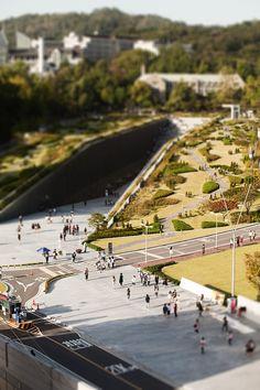 Ewha Womans University | 2008 | Seoul, Korea | Dominique Perrault Architecture: http://www.perraultarchitecte.com/en/homepage/