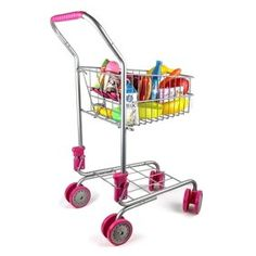 [Toy Storage Ideas] Precious Toys Kids & Toddler Pretend Play Shopping Cart with Groceries >>> You can find out more details at the link of the image. (This is an affiliate link) Kids Play Store, Play Grocery Store, Create A Shopping List, Folding Seat, Walmart, Play Shop, Novelty Toys, Toy Storage, Storage Ideas