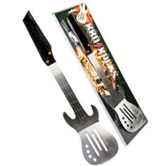 BBQ Rocks Guitar Shaped Spatula $24.95