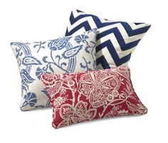 Refresh your accent pillows with festive colors for an easy seasonal update.