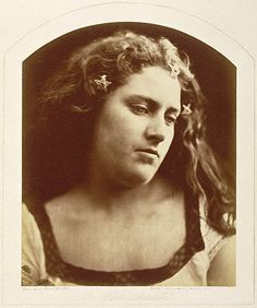 Bacchante, 1867Julia Margaret Cameron (June 11, 1815 – January 26, 1879) was a British photographer. She became known for her portraits of celebrities of the time, and for Arthurian and similar legendary themed pictures.