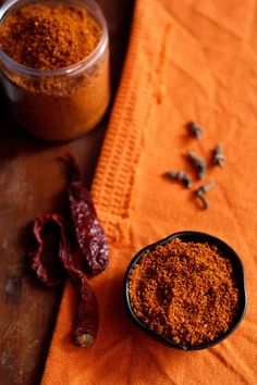 bisi bele bath masala powder recipe with step by step photos - a spice blend that is added to a very popular dish in karnataka - bisi bele bath... which is a spicy one pot rice, lentil and