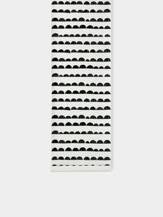 Half Moon Wallpaper - Black