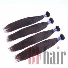 BF Hair Top Quality Brazilian Virgin Hair Straight 4 pcs 5A Grade Virgin Brazilian Straight Hair Bundles - BF Hair