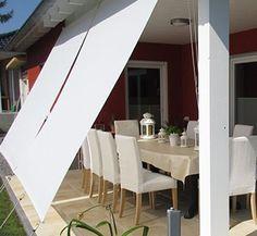 Vertical awning for balcony / terraces - JAROLIFT - Terrassen Ideen - Balkon