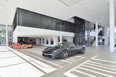 DBM Architects | Scuderia Ferrari Dealership, Bryanston, Johannesburg South Africa, Architects, Building Homes