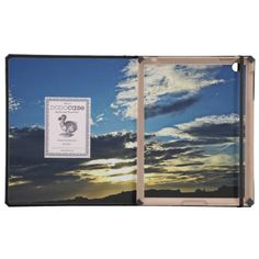 Sunset Glory Case For iPad is now available on my Zazzle store.