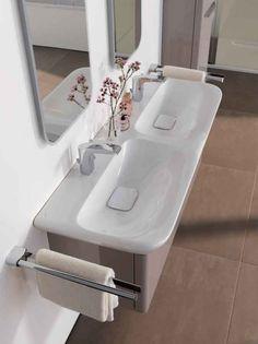 Timeless Elegance from Keramag Design Gray Bathroom Decor, Bathroom Spa, Bathroom Furniture, Bathroom Accessories, Small Bathroom, Master Bathroom, Bathroom Ideas, Vanity Basin, Basin Sink