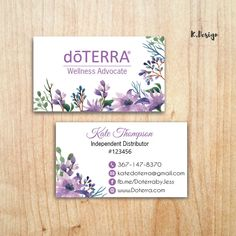 Items similar to doTERRA Business Cards, Essential Oil Card, Doterra Marketing Card, Printable File, Custom Business Card on Etsy Custom Business Cards, Business Card Size, Online Business, Doterra Logo, Doterra Business Cards, Doterra Wellness Advocate, Doterra Essential Oils, Printed Materials, Card Sizes