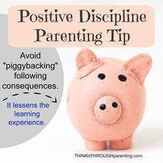 Why piggybacking on discipline prevents kids from learning from mistakes. Chemistry Experiments For Kids, The Learning Experience, Positive Discipline, Parenting Hacks, Kids Learning, Behavior, Improve Yourself, Parents, Classroom