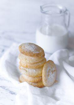 Lemon Crinkles Cookies