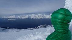 At the top of Storhaugen, Kåfjord