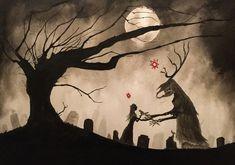 Strange Gods- the art of Valin Mattheis Gothic Fantasy Art, Dark Fantasy, Arte Horror, Horror Art, Occult Art, Afraid Of The Dark, Macabre, Dark Art, Creepy