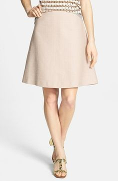 @ToryBurch Burch 'Denise' A-Line Skirt