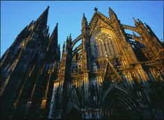 The Cologne cathedral Photo: Koelnmesse Cologne Germany, Eurotrip, Throughout The World, Places Ive Been, Cathedral, Architecture, City, Travel, Arquitetura