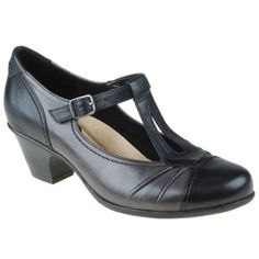 58c7ac6093cb Fly London s Wanderlust is a sophisticated mary jane style heel with a  buckle for easy on