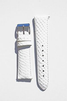 18mm White Snakeskin Leather...want