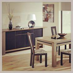 Collection Galaxie - orme massif grisé  Jp Delmas - design A.D. www.meubles-delmas.fr