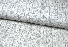 Stoff grafische Muster - arvika -  Baumwolle von Alexander Henry * 0,5 m - ein Designerstück von tumult-stoffe bei DaWanda