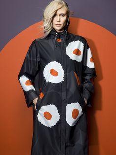 Reminds me of something I wore in the 80's. - Marimekko A/W 2014 #marimekko #marimekkoaw14