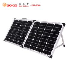 93.80$  Buy here - http://alikzt.shopchina.info/go.php?t=32764398225 - Dokio Brand Foldable Solar Panel China 80W(2Pcs x40W)+10A 12V/24V Controller 18V Solar Panels Easy to Carry Cell/System Charger  #buyonline