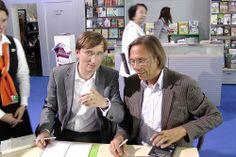 Harald Welzer + Sönke Neitzel beim Blauen Sofa