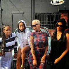 Single Ladies:Amber Rose, Christina Milan, and Karrueche Tran spotted in LA - https://www.nollywoodfreaks.com/single-ladies-amber-rose-christina-milan-and-karrueche-tran-spotted-in-la/