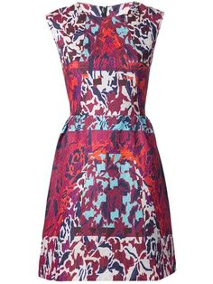 Peter Pilotto Orchid Print Dress
