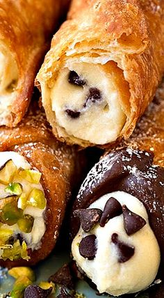 Cannoli (Shell and Filling Recipes) ❊