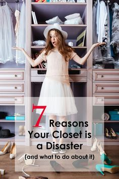 7 Reasons Your Closet is a Disaster - Beautiful Life and Home Organization Hacks, Organizing, Life Is Beautiful, Summer Dresses, Closet, Collection, Storage, Creative, Fashion