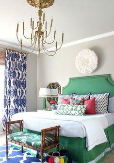 Colorfull Design Bedroom (129) #bedroomdesign