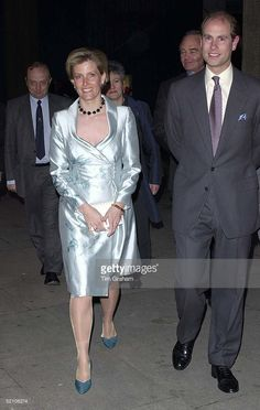The Earl And Countess Of Wessex [prince Edward And Sophie Rhys-jones] Attending A Concert By The London Mozart Players At Queen Elizabeth Hall In London.