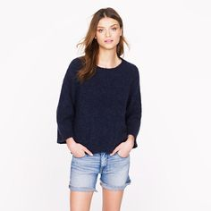 The Elder Statesman® for J.Crew cashmere bell sweater - j.crew cashmere - Women's sweaters - J.Crew