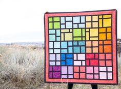 Shades – Modern Stained Glass Quilt   Tutorial! – Riley Blake Designs
