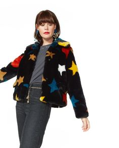 multi-color star coat from ban.do